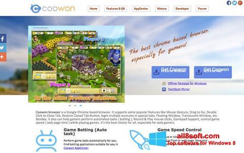 Ảnh chụp màn hình Coowon Browser cho Windows 8