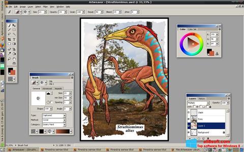 Ảnh chụp màn hình Artweaver cho Windows 8