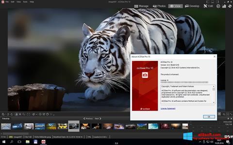 Ảnh chụp màn hình ACDSee Pro cho Windows 8