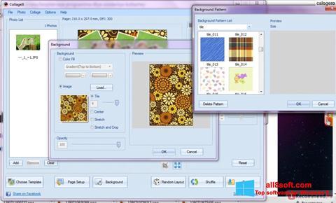 Ảnh chụp màn hình CollageIt cho Windows 8