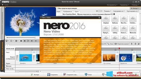 Ảnh chụp màn hình Nero Video cho Windows 8