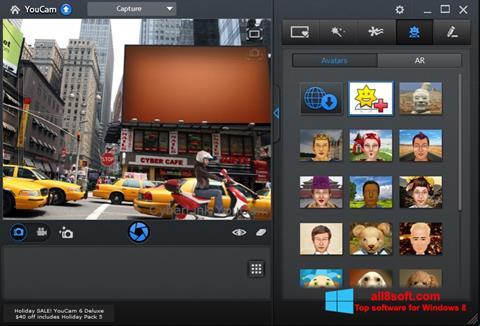 Ảnh chụp màn hình CyberLink YouCam cho Windows 8