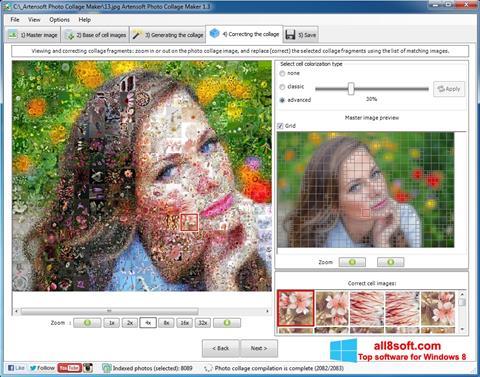 Ảnh chụp màn hình Photo Collage Maker cho Windows 8