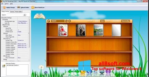 Ảnh chụp màn hình Bookshelf cho Windows 8