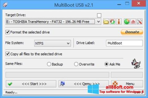 Ảnh chụp màn hình Multi Boot USB cho Windows 8