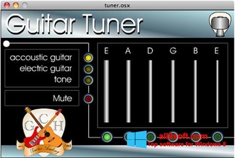 Ảnh chụp màn hình Guitar Tuner cho Windows 8