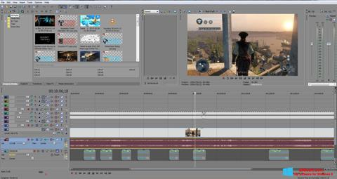 Ảnh chụp màn hình Sony Vegas Pro cho Windows 8