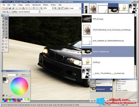 Ảnh chụp màn hình Paint.NET cho Windows 8