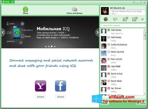 Ảnh chụp màn hình ICQ cho Windows 8