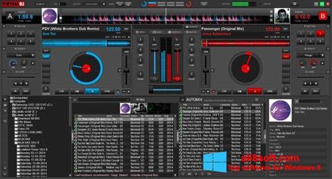 Ảnh chụp màn hình Virtual DJ cho Windows 8