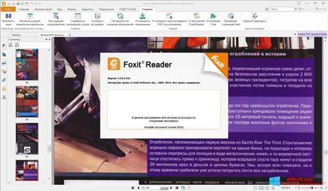 Ảnh chụp màn hình Foxit Reader cho Windows 8