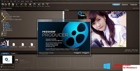 Ảnh chụp màn hình ProShow Producer cho Windows 8