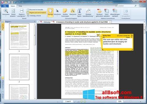 Ảnh chụp màn hình Nitro PDF Reader cho Windows 8