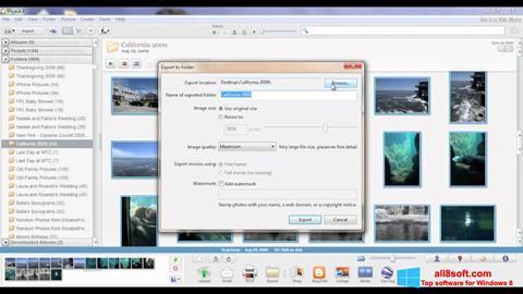 Ảnh chụp màn hình Picasa cho Windows 8