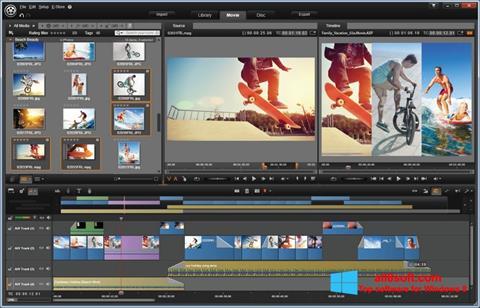 Ảnh chụp màn hình Pinnacle Studio cho Windows 8