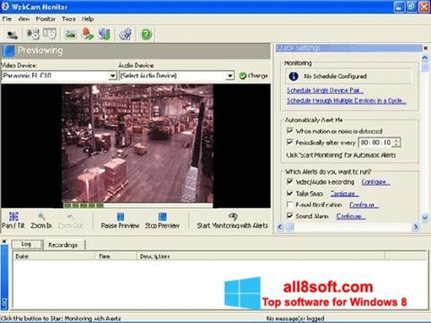Ảnh chụp màn hình WebCam Monitor cho Windows 8