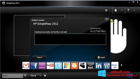 hp simplepass windows 8
