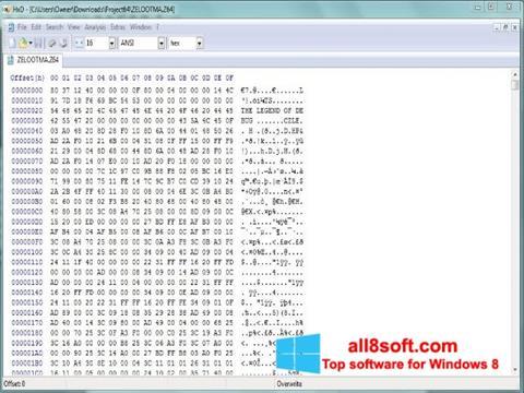 Tải xuống HxD Hex Editor cho Windows 8 (32/64 bit) Tiếng Việt