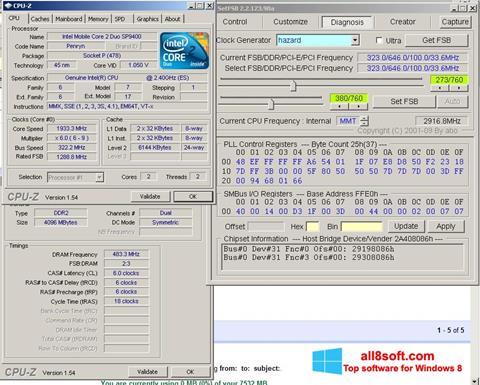 Ảnh chụp màn hình SetFSB cho Windows 8