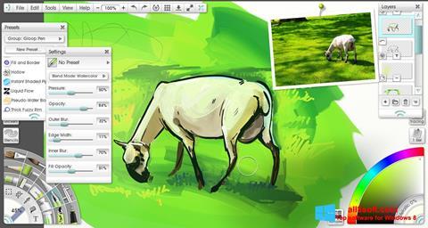 Ảnh chụp màn hình ArtRage cho Windows 8