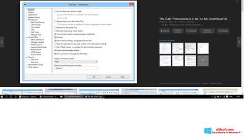 Ảnh chụp màn hình The Bat! cho Windows 8