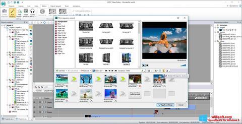 Ảnh chụp màn hình VSDC Free Video Editor cho Windows 8