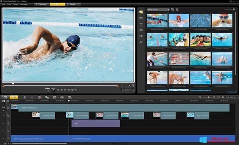 Ảnh chụp màn hình Corel VideoStudio cho Windows 8