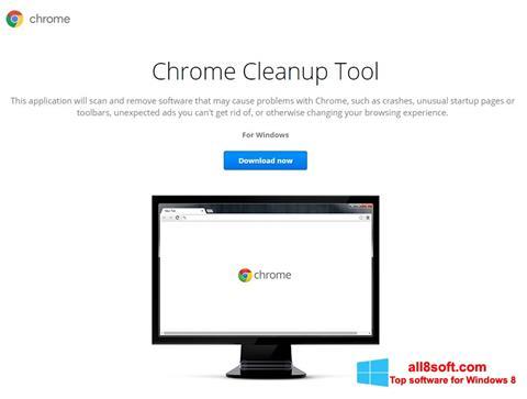 Ảnh chụp màn hình Chrome Cleanup Tool cho Windows 8