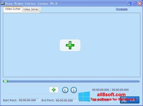 Ảnh chụp màn hình Free Video Cutter cho Windows 8