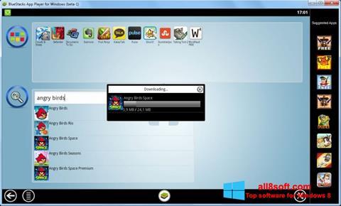 Ảnh chụp màn hình BlueStacks cho Windows 8