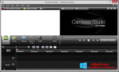 Ảnh chụp màn hình Camtasia Studio cho Windows 8