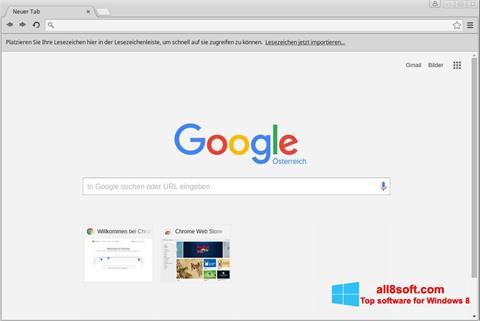 Ảnh chụp màn hình Google Chrome cho Windows 8