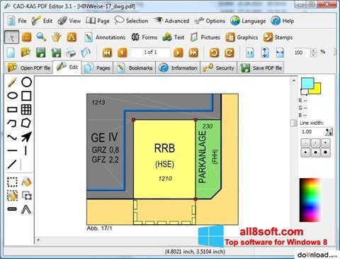 Ảnh chụp màn hình PDF Reader cho Windows 8