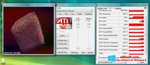 Ảnh chụp màn hình ATITool cho Windows 8